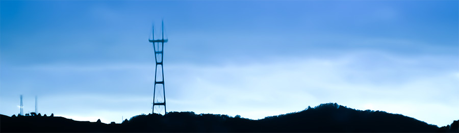 Sutro Tower Skyline